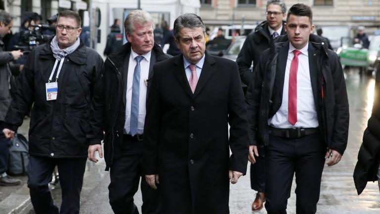 Германският външен министър Зигмар Габриел обяви, че е склонен за