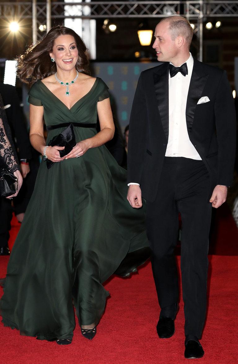 Най-официалните гости - принц Уилям и Кейт Мидълтън