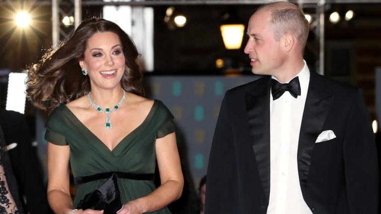 Принц Уилям и съпругата му, херцогинята на Кембридж Катрин, ще