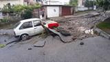 Разчистват Котел след опустошителите наводнения