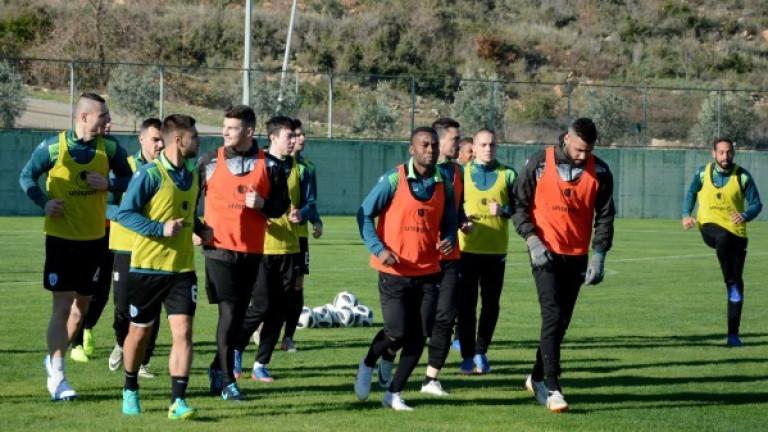 Отборът на Черно море проведе първата си тренировка в Турция