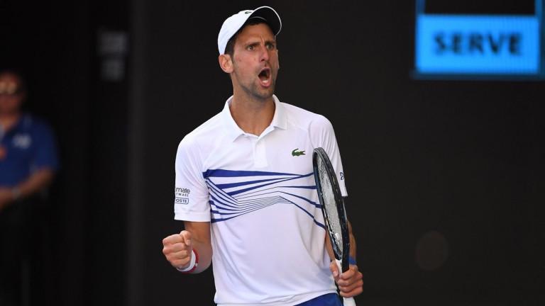 Новак Джокович загуби сет на Australian Open 2019, но продължава