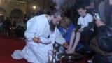 """С ритуал в """"Св. А. Невски"""" напомниха за смирението на Христос"""