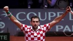 """Хърватия победи Франция на финала за """"Купа Дейвис"""""""