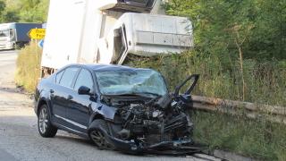 Петима румънци са в болница след тежка катастрофа на пътя Русе – Бяла