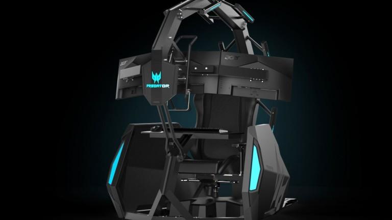 Какво предлага новият геймърски стол на Acer