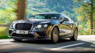 Bentley показа най-бързият четириместен автомобил в света