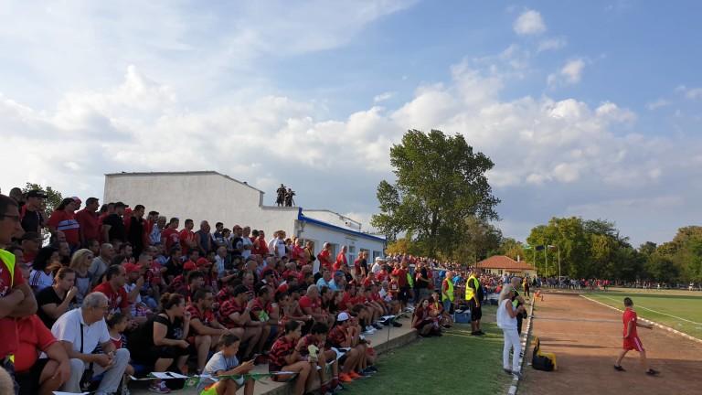 ЦСКА победи Поморие с минималното 1:0 в контролна среща, играна
