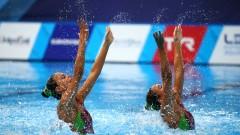 Българският дует се нареди под №18 на Европейското по артистично плуване