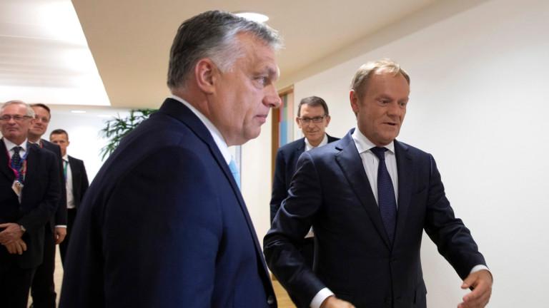Орбан обвинява Меркел за разногласията за топ постовете