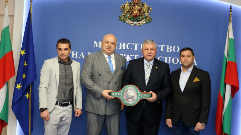 Министърът на младежта и спорта Красен Кралев проведе среща и