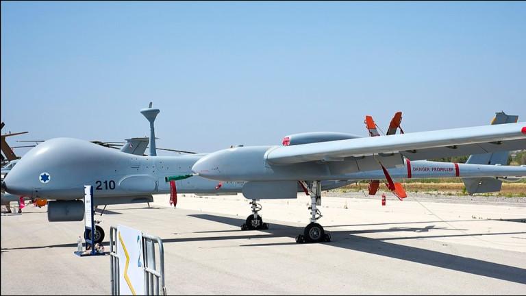 Германия одобри сделка за използване на израелски безпилотни самолети за 9 г.