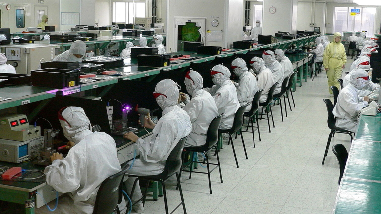 Снимка: В най-големият завод за смартфони в света ще се правят по 124 милиона устройства годишно