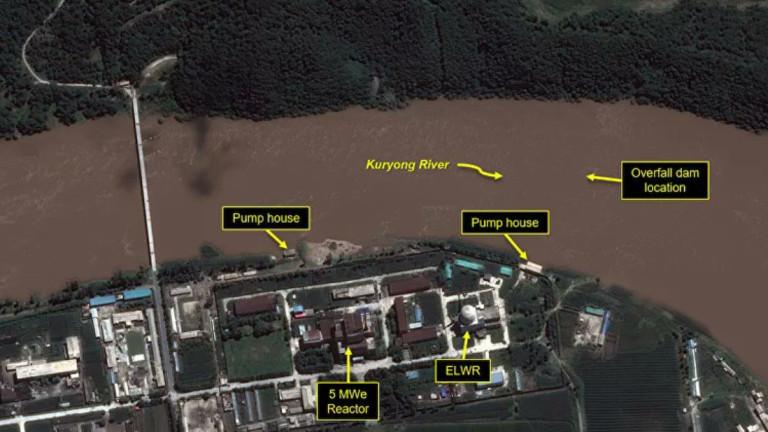 Сателитните изображения предполагат, че скорошното наводнение в Северна Корея може