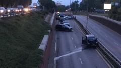 Задържаха шофьор за верижната катастрофа с 9 коли в София