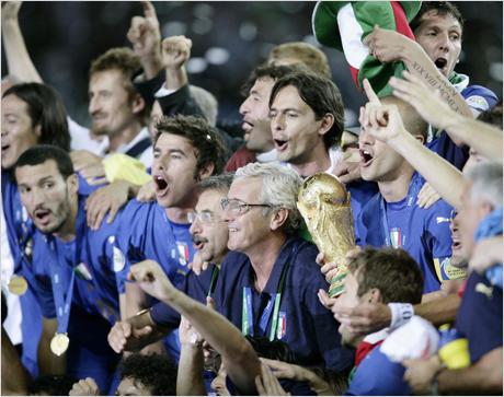 """Как Италия стана """"скуадра адзура"""""""