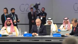 Путин и Мохамед бин Салман със сърдечна среща на Г-20