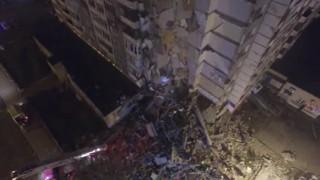 Блок се срути в Ижевск. Има загинали и ранени