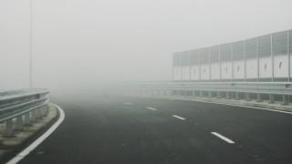 """Мъгла на АМ """"Тракия"""" и """"Люлин"""""""