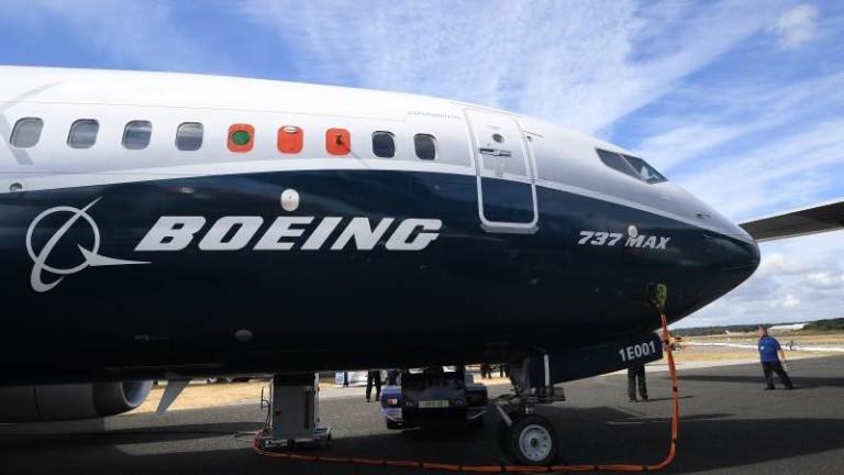 """Боинг"" отлага тестов полет на 777 Макс заради метеорологични условия"