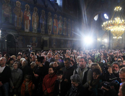 Светла седмица - благославят се светиите