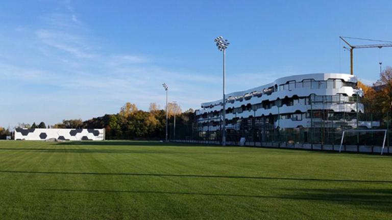 Базата на националите приюти Дунав преди мача с Левски