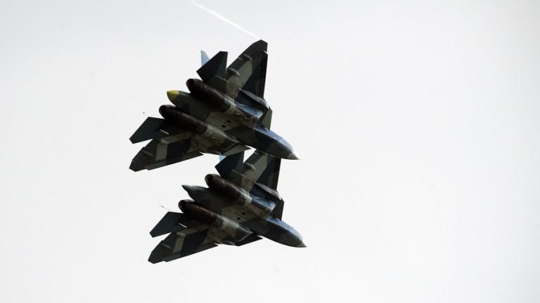 Руски изтребители Су-57 са провели бойни изпитания в Сирия