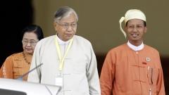 Парламентът на Мианмар с първи демократично избран президент от 50 г.