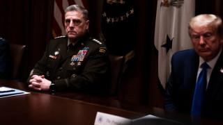 Генерал Мили е поредният висш военен, обмислящ оставка при Тръмп