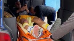 Брутално влизане прати Апата в болница