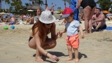 Меги Димчева на плаж в Гран Канария (СНИМКИ)