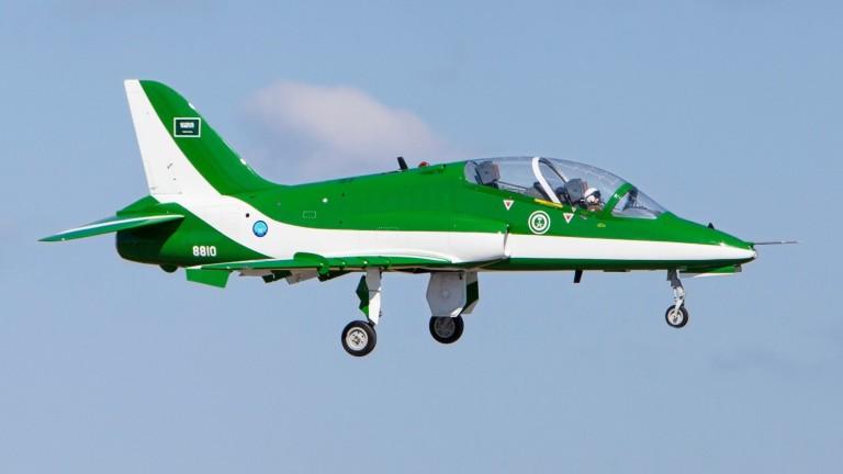 Разби се военен самолет на Саудитска Арабия, всички на борда загинаха