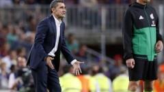 Барселона удължава договора на Ернесто Валверде