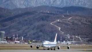 Бомбена заплаха на летището в Сочи