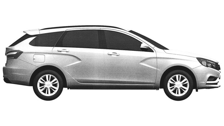 Вижте как ще изглежда Lada Vesta комби