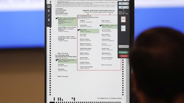 Исторически обрат - Байдън поведе на Тръмп в републиканска Джорджия