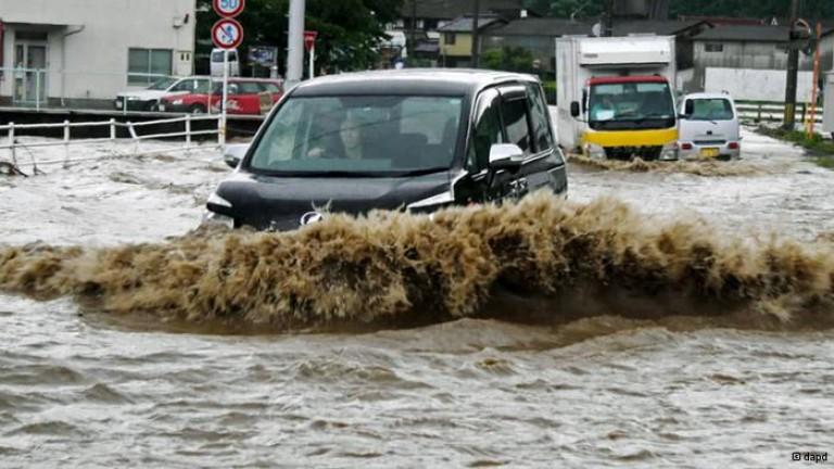 Броят на жертвите от наводненията в Япония достигна до 32-ма