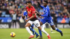 Лестър - Манчестър Юнайтед 0:1, гол на Маркъс Рашфорд!