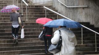 Дъждове в 13 области в Югозападна и Централна България