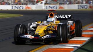 Болид ING Renault F1 пристига в петък в София (галерия)