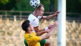 България загуби с 0:4 от Уелс в младежка европейска квалификация