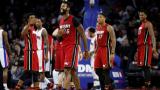 Маями измъкна победа в края срещу Детройт
