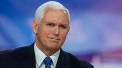 Наредиха на самолета с вицепрезидента на САЩ да се върне във Вашингтон за спешна среща