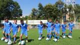 Талисманът Лъвски зарадва десетки деца на турнир в Бургас