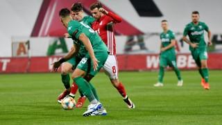 ЦСКА - Витоша 4:0 (Развой на срещата по минути)