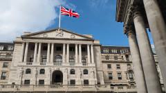 Лирата се качва. Банката на Англия няма да въвежда отрицателни лихви