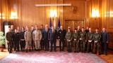 Зам.-министър Андонов и вицепремиерът Каракачанов изпратиха българския военен отбор на Седмите световни военни игри
