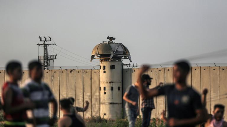 Шестима убити и стотици ранени палестинци в Газа