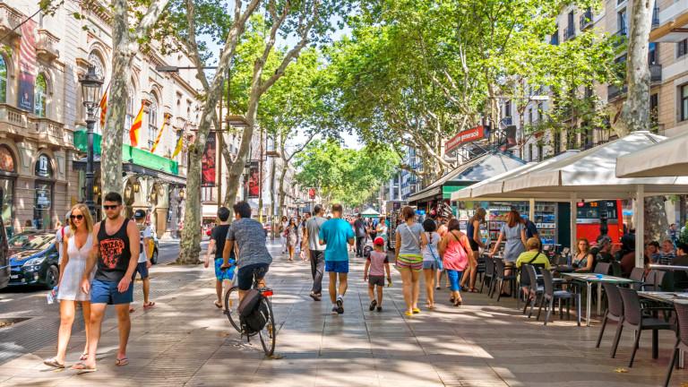 Повече от 37 милиона чуждестранни туристи са посетили Испания за