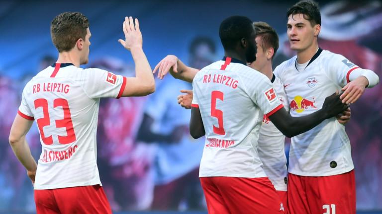 Футболистите на РБ Лайпциг се присъединиха към някои от тимовете